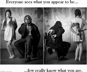 deception, generous, and frightening image