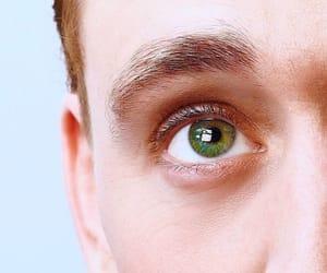 tom hiddleston, eyes, and loki image
