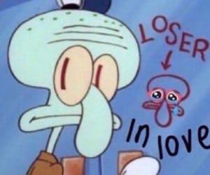 spongebob, meme, and loser image