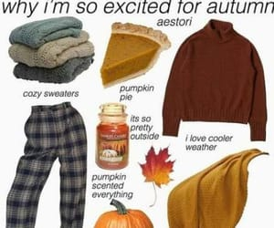 aesthetic, fall, and halloween ideas image