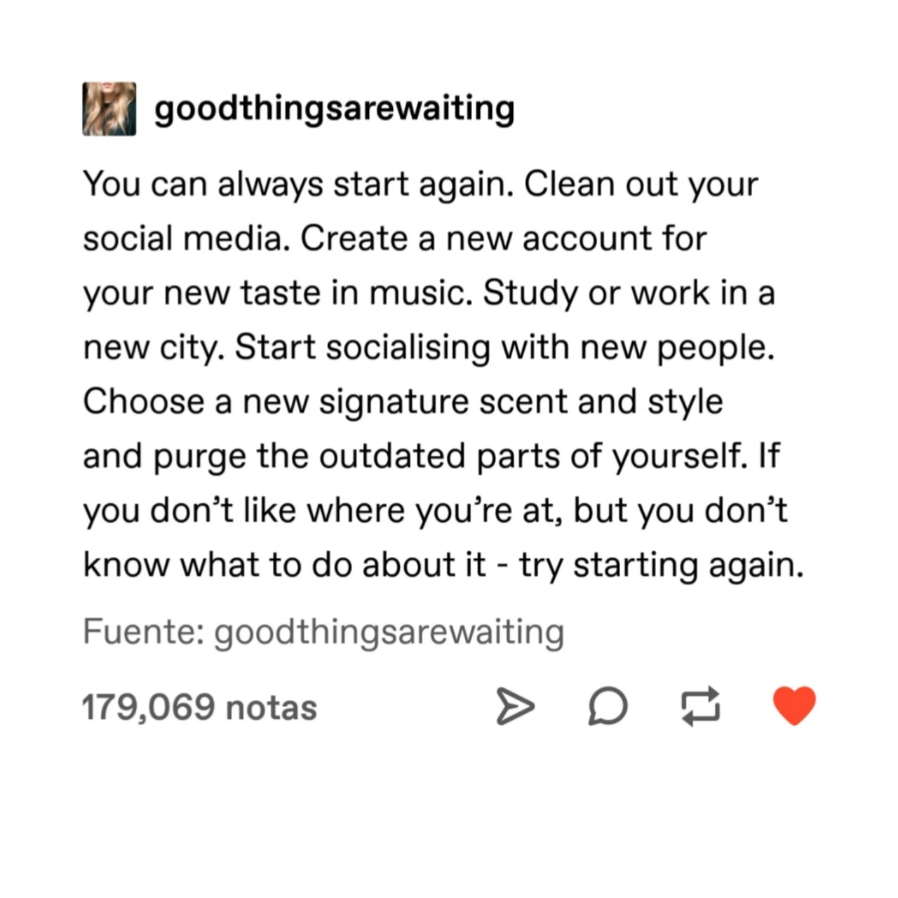 advice, change, and positivity image