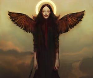 angel, gah!!, and creepy image