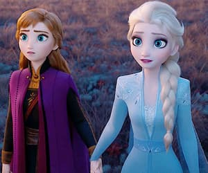 animation, disney, and elsa image