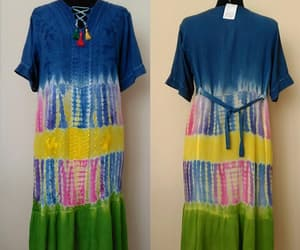 etsy, vintage dress, and hippie dress image