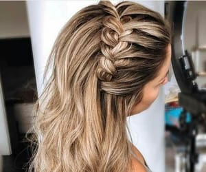 braids, fashion hair, and hairinspirations image