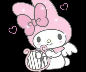 my melody, angel, and png image
