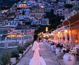 italy and positano image