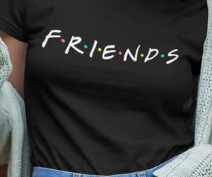etsy, gift for friends, and friends tshirts image