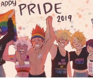 pride, pride month, and mha image