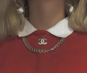 red, aesthetic, and chanel image