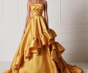 dress, hamda al fahim, and haute-couture image