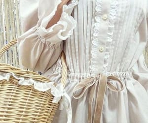 aesthetic, dress, and lace image