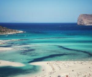 beach, crete, and Greece image