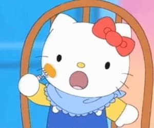 gif, hello kitty, and sanrio image