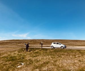 adventure, traveller, and car image
