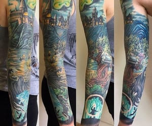 harrypotter, hp, and ink image