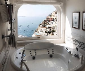 bathroom, italy, and home image