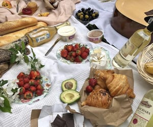 food, picnic, and aesthetic image