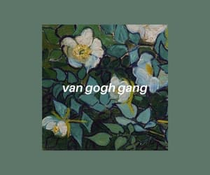 green, wallpaper, and van gogh image