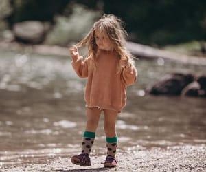 girl, vacation, and kid image