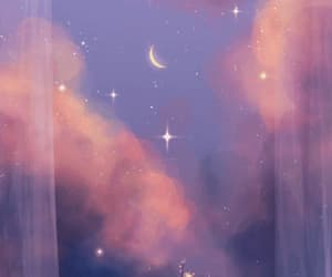 cielo, estrellas, and gif image