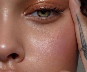 girl, makeup, and eyes image