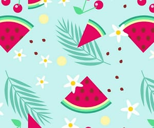 watermelon, wallpaper, and cute image
