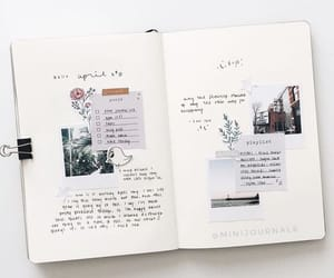 bullet journal, journal, and journaling image