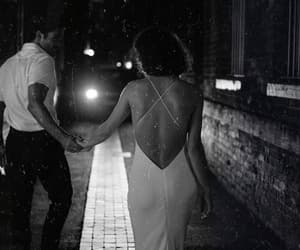 couple, beautiful, and black and white image