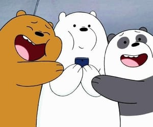cartoon, wallpaper, and we bare bears image