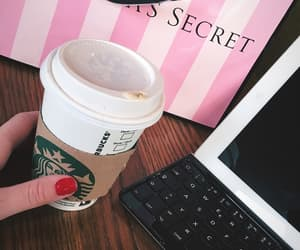 Victoria's Secret and coffee image