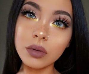 makeup, girl, and make up image
