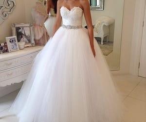 beautiful, dress, and luv image