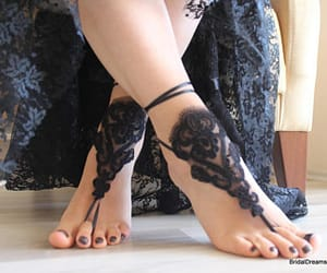 etsy, bridal lace shoes, and bridal lace sandals image