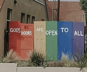 equality, god, and colors image