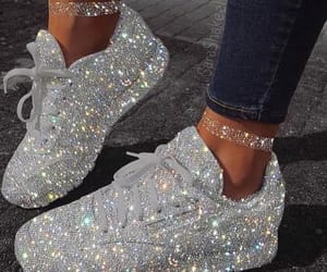 shoes, beauty, and glitter image