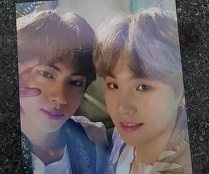 jin, seokjin, and suga image
