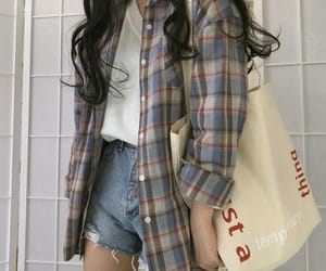 fashion, kfashion, and korean fashion image