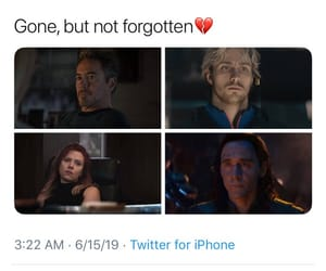 Avengers, black widow, and memes image