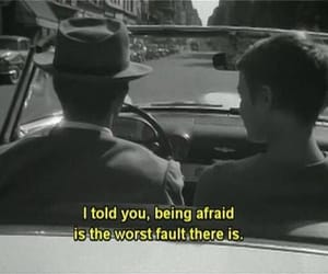 aesthetic, movie quotes, and black and white aesthetic image