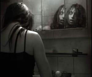 mirror, creepy, and horror image