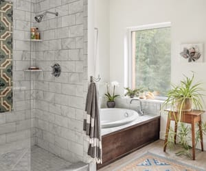 bath, bathroom, and parquet image
