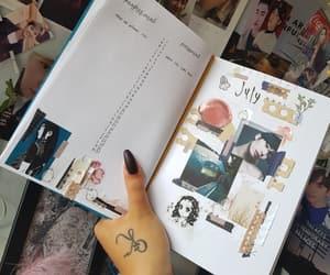 art, calendar, and crafty image