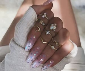 accessories, manicure, and nails image
