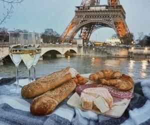 food, paris, and travel image