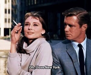 new york, audrey hepburn, and Breakfast at Tiffany's image