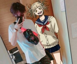 anime, toga, and bts image