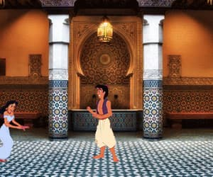 aladdin, film, and movies image