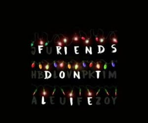 stranger things, friends, and light image