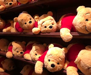 bear, pooh, and teddy image